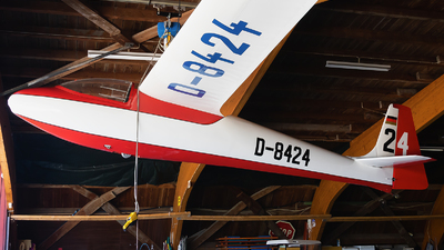 D-8424 - Schleicher Ka-6CR - Luftsportgruppe Isny