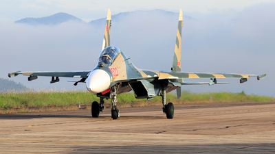 8522 - Sukhoi Su-27UBK Flanker C - Vietnam - Air Force