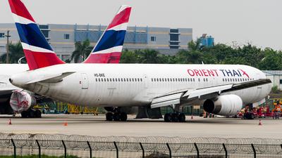 HS-BKE - Boeing 767-3W0(ER) - Orient Thai Airlines