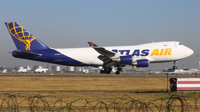 N498MC - Boeing 747-47UF(SCD) - Atlas Air
