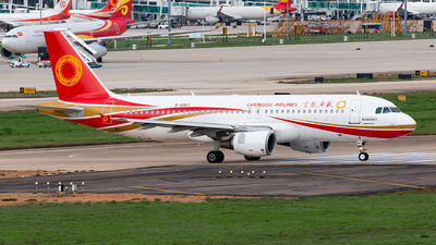 B-6907 - Airbus A320-214 - Chengdu Airlines