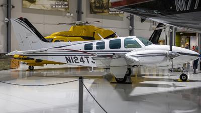 N124TJ - Beechcraft 58 Baron - Private