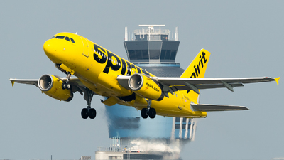 A picture of N522NK - Airbus A319132 - Spirit Airlines - © Diego Jara Ibarra
