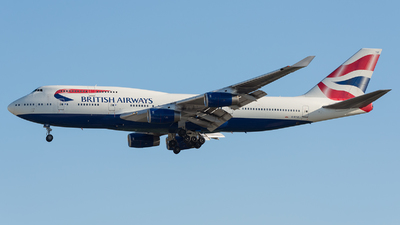 G-BYGF - Boeing 747-436 - British Airways