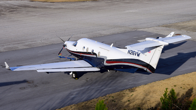 N26VW - Pilatus PC-12/45 - Private