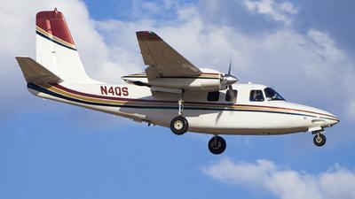 N4QS - Aero Commander 500S - Ponderosa Aviation