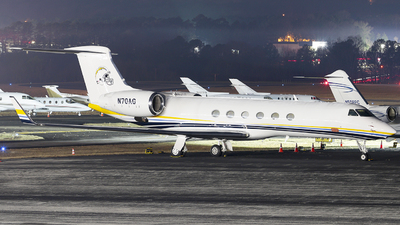 N70AG - Gulfstream G-V - Private