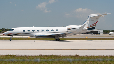 VQ-BNZ - Gulfstream G650 - Jordan - Government
