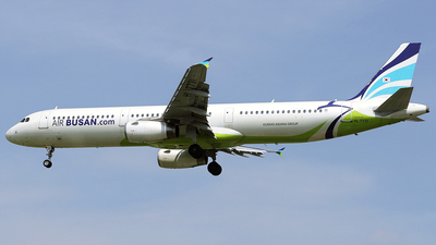 A picture of HL7731 - Airbus A321231 - Air Busan - © REDSOX