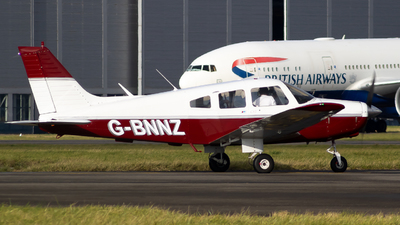 G-BNNZ - Piper PA-28-161 Warrior II - Private