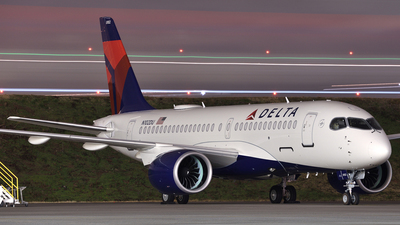 N102DU - Airbus A220-171 - Delta Air Lines