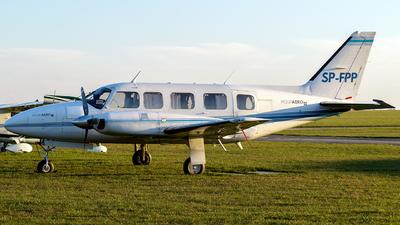 A picture of SPFPP - Piper PA31350 Navajo Chieftain - [318152010] - © Krzysiek Dz