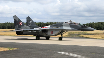 15 - Mikoyan-Gurevich MiG-29UB Fulcrum - Poland - Air Force