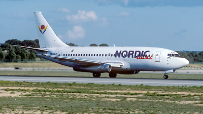 SE-DLP - Boeing 737-205 - Nordic East Airways
