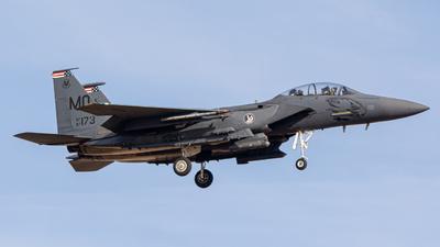 87-0173 - McDonnell Douglas F-15E Strike Eagle - United States - US Air Force (USAF)