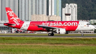 A picture of 9MAQO - Airbus A320216 - AirAsia - © Chao Aviation