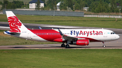 P4-KBF - Airbus A320-232 - Fly Arystan