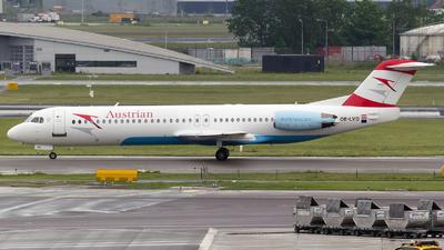 OE-LVD - Fokker 100 - Austrian Airlines