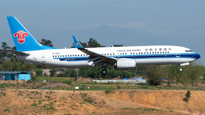 B-1403 - Boeing 737-81B - China Southern Airlines