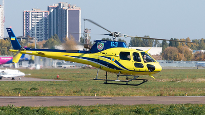 63 - Airbus Helicopters H125 - Ukraine - Border Guard