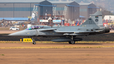 3917 - Saab JAS-39C Gripen - South Africa - Air Force