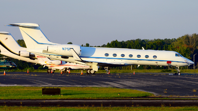 N75RP - Gulfstream G550 - Private
