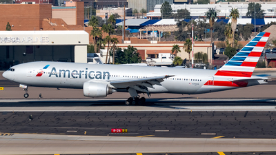 A picture of N788AN - Boeing 777223(ER) - American Airlines - © Ricky Teteris