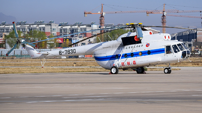 B-7830 - Mil Mi-8T Hip - XingJiang Kaiyuan General Aviation