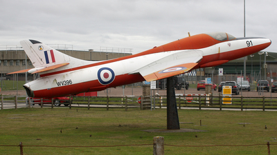 WV396 - Hawker Hunter T.8C - United Kingdom - Royal Air Force (RAF)