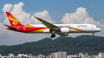 A picture of B207J - Boeing 7879 Dreamliner - Hainan Airlines - © xujunlang0420