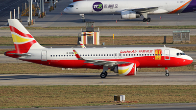 B-300L - Airbus A320-251N - Lucky Air