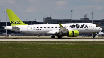 YL-CSN - Airbus A220-300 - Air Baltic