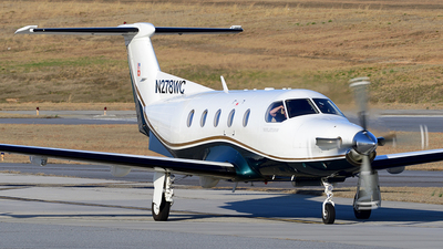 N278WC - Pilatus PC-12/45 - Private