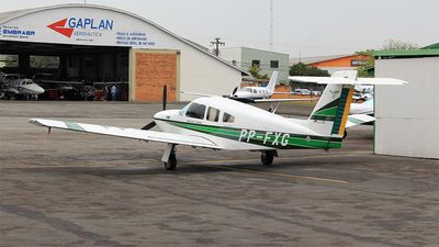 PP-FXG - Embraer EMB-711ST Corisco II Turbo - Aero Club - Parana