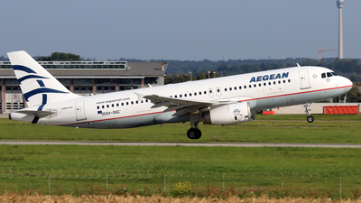A picture of SXDGC - Airbus A320232 - Aegean Airlines - © Eddie Heisterkamp