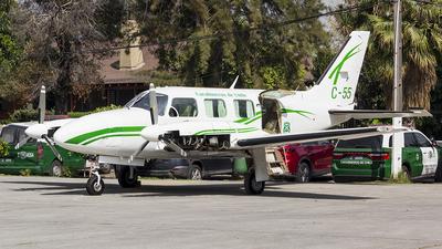 C-55 - Piper PA-31-310 Navajo C - Chile - Carabineros