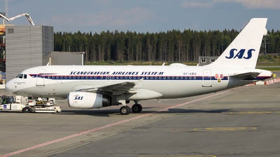 A picture of OYKBO - Airbus A319132 - SAS - © OSL Planespotting