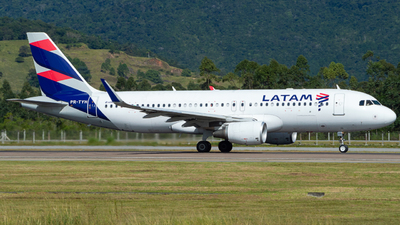 A picture of PRTYH - Airbus A320214 - LATAM Airlines - © Augusto Medeiros