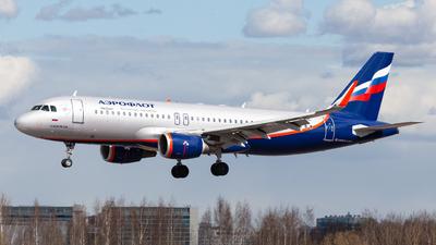 A picture of VQBSL - Airbus A320214 - Aeroflot - © Marianna Rychkovskaia