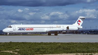 D-AGWC - McDonnell Douglas MD-83 - Aero Lloyd