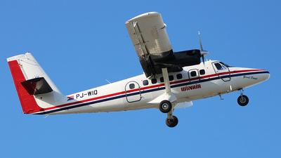 A picture of PJWIQ - De Havilland Canada DHC6300 Twin Otter - Winair - © Nigel Steele