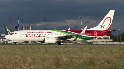 CN-ROS - Boeing 737-8B6 - Royal Air Maroc (RAM)