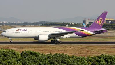 HS-TJG - Boeing 777-2D7 - Thai Airways International