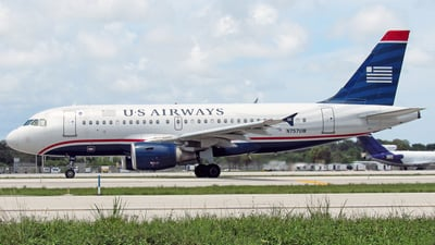 N757UW - Airbus A319-112 - US Airways
