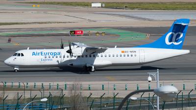 A picture of ECMSN - ATR 72500 - Air Europa - © Mateo León