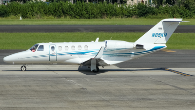 N85KM - Cessna 525A CitationJet 2 - Private
