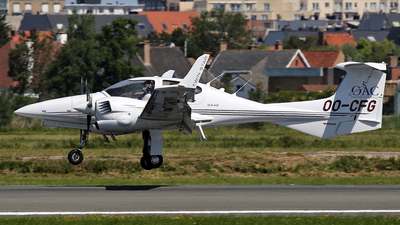 OO-CFG - Diamond DA-42 Twin Star - Ostend Air College