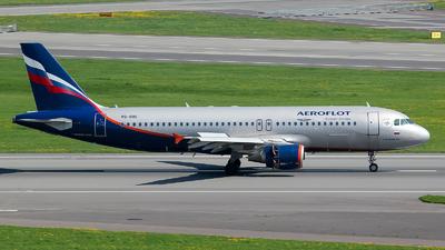 VQ-BBC - Airbus A320-214 - Aeroflot