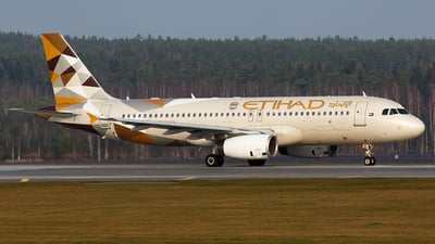 A picture of A6EIH - Airbus A320232 - Etihad Airways - © Sots Aliaksandr