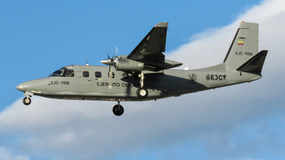 EJC1108 - Aero Commander RC690D - Colombia - Army